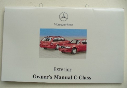 MERCEDES W202 C-CLASS OWNERS EXTERIOR MANUAL