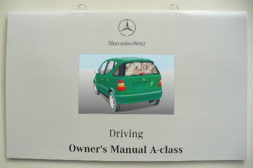 MERCEDES W168 A-CLASS SERIES OWNERS DRIVING MANUAL