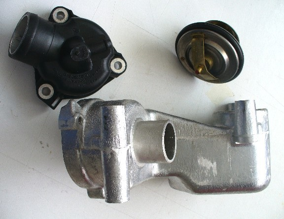 mercedes w123 series m102 thermostat parts kit