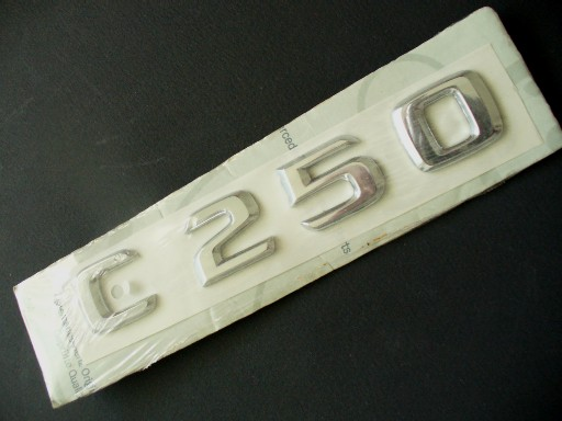 W202 C-CLASS 'C 250' BOOT BADGE