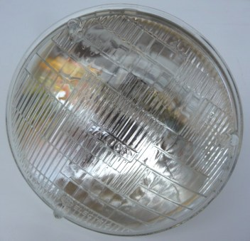 MERCEDES W111 W107 W108 W109 W116 SEALED BEAM LAMP UNIT - HIGH /LOW BEAM TYPE 2