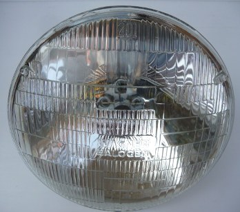 MERCEDES W100 W110 W111 W113 W115 W123 LAMP UNIT SEALED BEAM - RIGHT HAND TRAFFIC