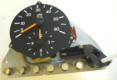 MERCEDES W126 300SD TACHOMETER WITH CLOCK
